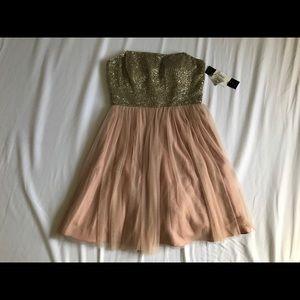Aidan Mattox Pink Dress Beaded - NWT